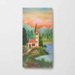 House Metal Print
