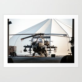 I need to order an AH-64 Apache Longbow Helicopter Art Print
