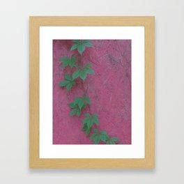 Color clash Framed Art Print