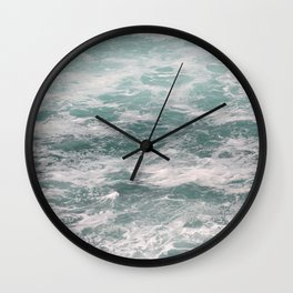 Blown Spume and Windrift Wall Clock