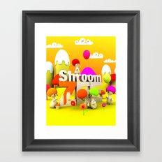 My air Balloon Framed Art Print