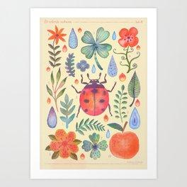 Et coloris natura II Art Print