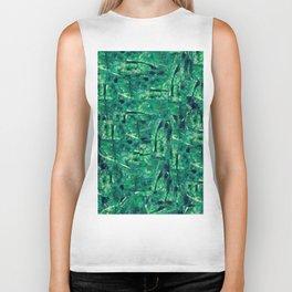 Fancy Forest - Green Pattern / All Over Print Biker Tank