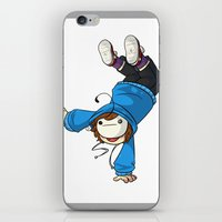 cryaotic iPhone & iPod Skins featuring Cryaotic 'BALANCE!' by Crazy Corners