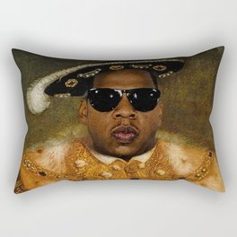 Jay in Shades Rectangular Pillow
