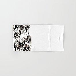 Essaim de guêpes - Illustration encre de Chine Hand & Bath Towel