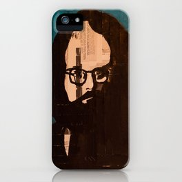 Who stood before you speechless — Allen Ginsberg iPhone Case