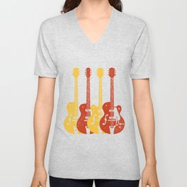 Chet Atkins Guitars Unisex V-Neck