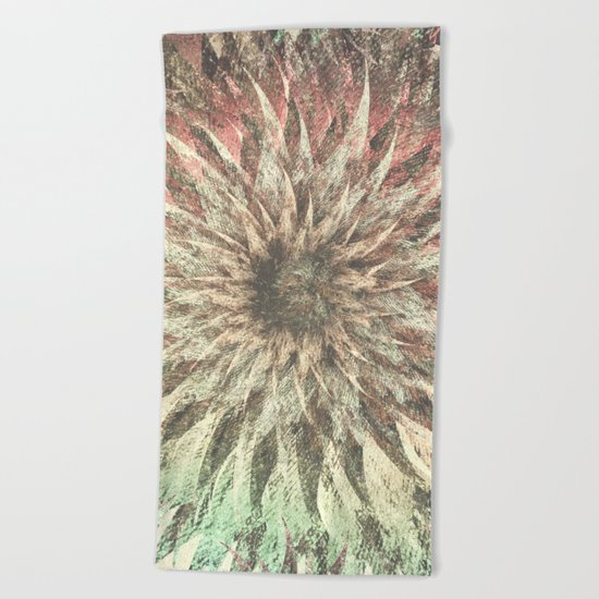 Meeting Mahadeva Beach Towel
