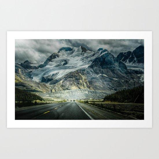 fantasy road Art Print