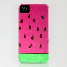 Watermelon Papercut iPhone (4, 4s) Slim Case