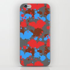color dripping iPhone & iPod Skin