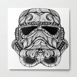 clown trooper gildan black Metal Print