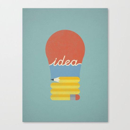 I've Got An Idea Canvas Print