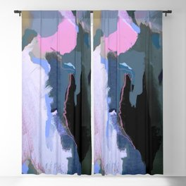 Pink line Blackout Curtain