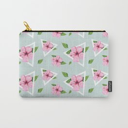 Hibiscus Fun Carry-All Pouch