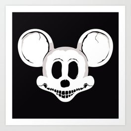 DEADMOUSE Art Print