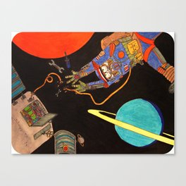 """""""You're Going to Die in Space!!"""" Canvas Print"""