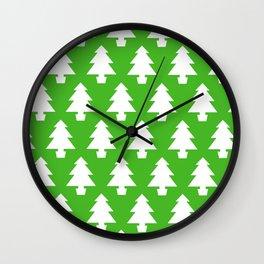 Trees of Green Wall Clock