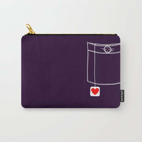 Pocket Full of Love Carry-All Pouch