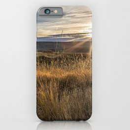 Late Afternoon on Malheur iPhone Case