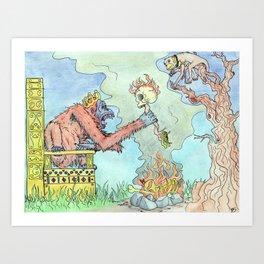 The Royal We Art Print