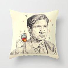 Mulder Throw Pillow