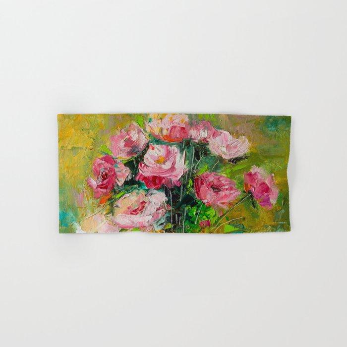 magic roses Hand & Bath Towel
