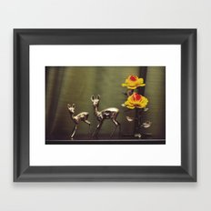 Ciervitos Framed Art Print