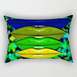 Are You Giving Me Lips? Rectangular Pillow