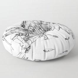 ArchAngel Warrior Floor Pillow