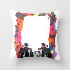 MIRROR// Throw Pillow