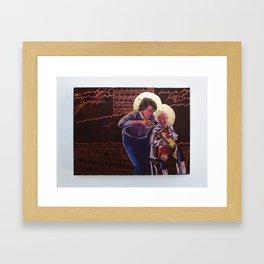 Hair Cut Framed Art Print