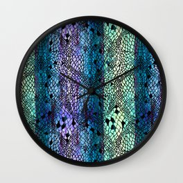 COLORED LACE Wall Clock