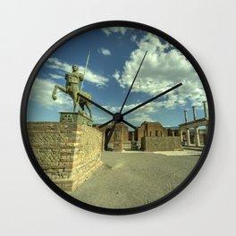 Pompei Centaur Wall Clock