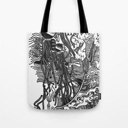 Fiddle Sticks Tote Bag