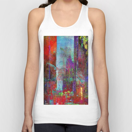 Disintegration Unisex Tank Top