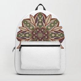 Mid modern mandala Backpack