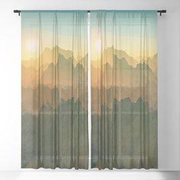Inner Peace Sheer Curtain