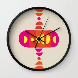 Storm Calka Chicago 68 Wall Clock