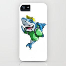 Shark Back to School Kids Pre-School Elementary iPhone Case