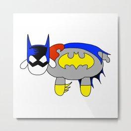 Bat Sheep Metal Print