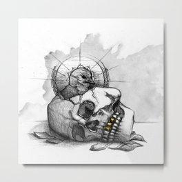 LifeCycle Metal Print