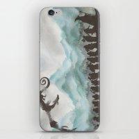 smaug iPhone & iPod Skins featuring The Desolation of Smaug by JadeJonesArt