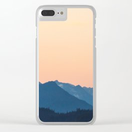 Warmest Blues in the North Clear iPhone Case