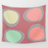eggs Wall Tapestries featuring Easter Eggs by Fine2art
