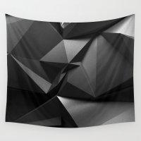 crow Wall Tapestries featuring Crow by Ilya Konyukhov