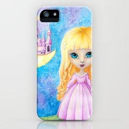 Castle Dreams Girl iPhone Case