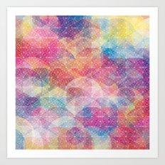 Cuben Web Art Print