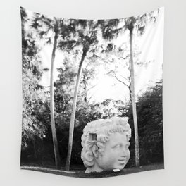 The Lone Head Wall Tapestry